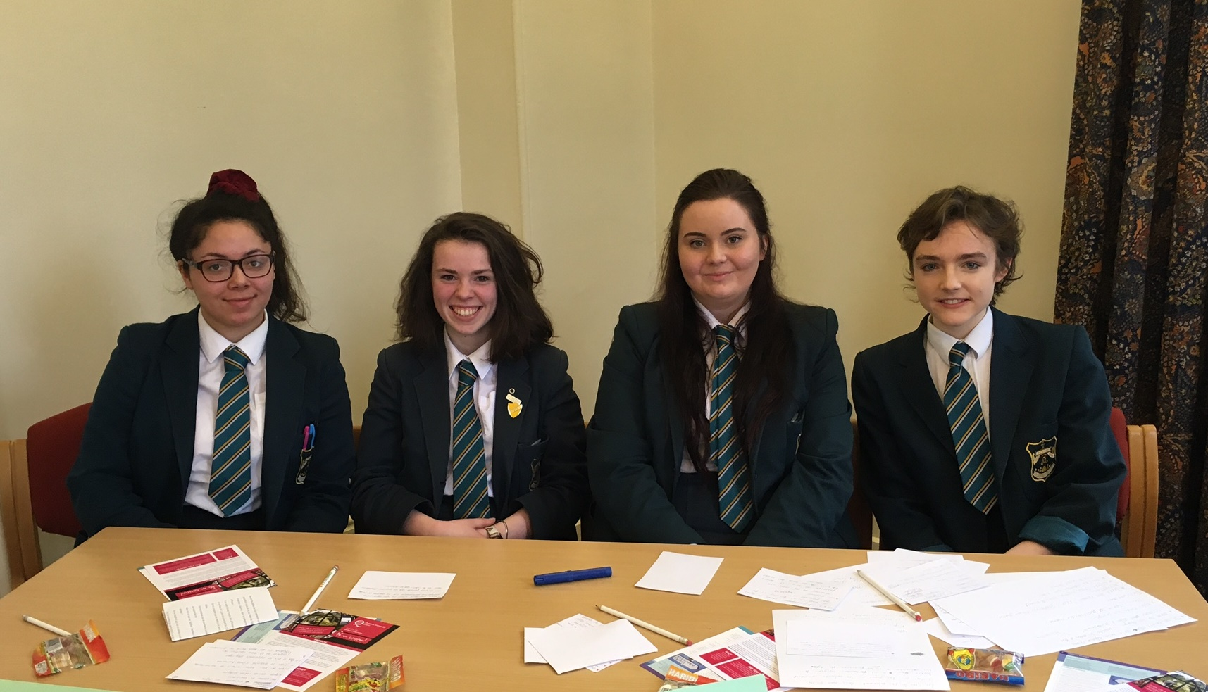 A Level French Debating Team